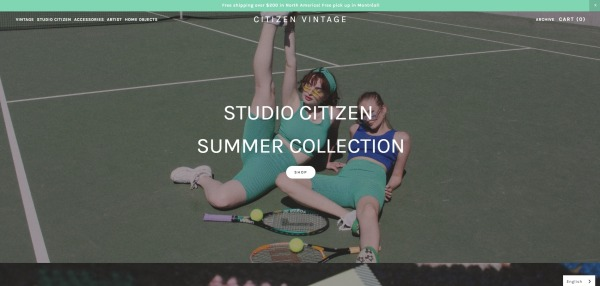 Citizen Vintage - Clothing Store Montreal