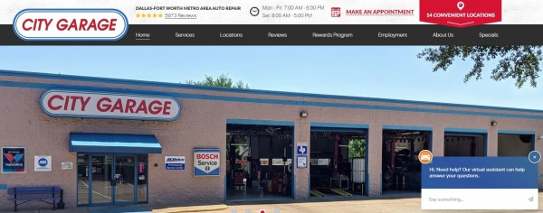 City Garage - Auto Repair Plano