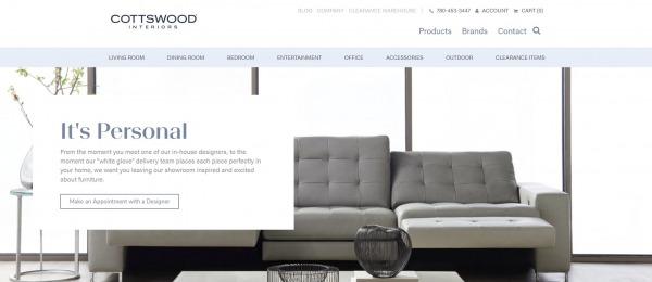 Cottswood Interiors - Furniture Stores In Edmonton