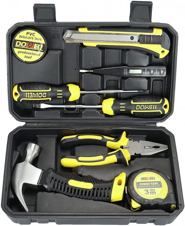 DOWELL Tool Kit Set 9-Piece