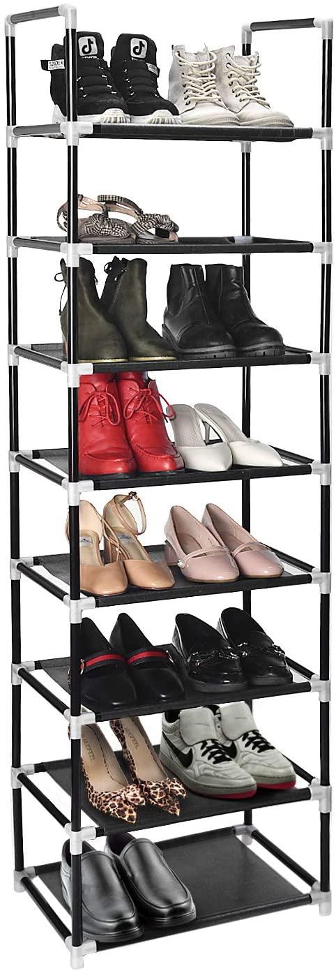 ERONE shoe rack organizer 8 tiers