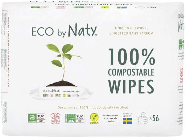Eco by Naty Baby Wipes