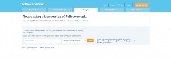 Followerwonk: Twitter Analytics Tool