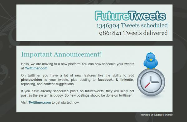 Future Tweets - Twitter Scheduling Tool
