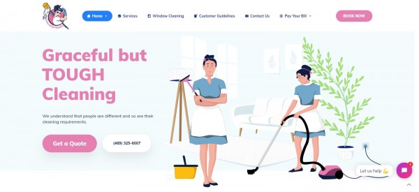 Graceful Maids: House Cleaning Service In Plano