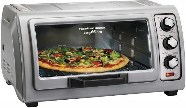 Hamilton Beach 6-Slice Countertop Toaster Oven