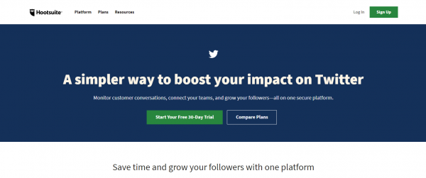 Hootsuite: Best Twitter Analytics Tool