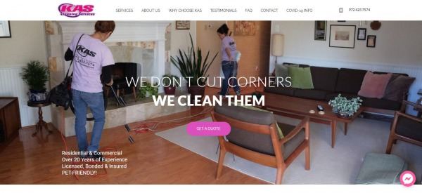Kas Cleaning Services: House Cleaning In Plano