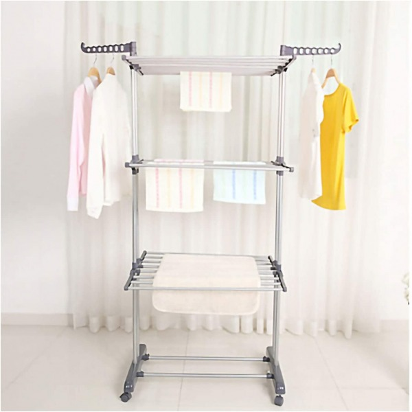 Kentaly 3 tier clothes drying rack
