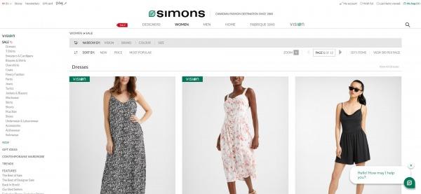 La Maison Simons - Clothing Store Montreal