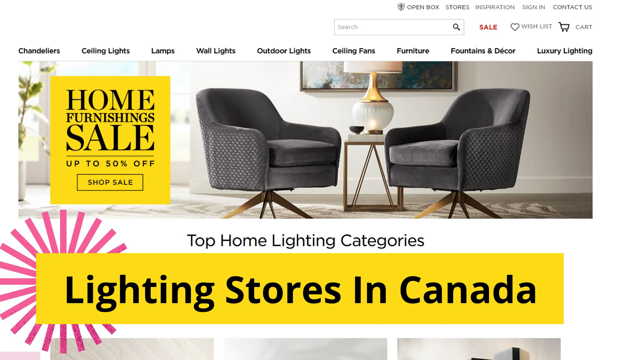 20 Best Online Lighting Stores In Canada You Must Try In 20