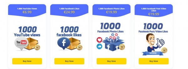 Likes on Facebook in an Instant