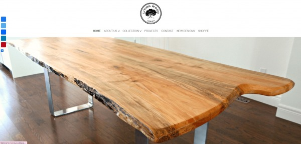 Living wood design - furniture stores Mississauga