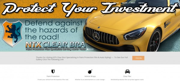 NTX Clear Bra - Car Paint Protection Film