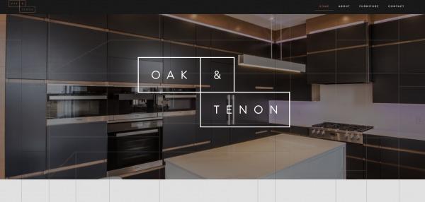 Oak and tenon