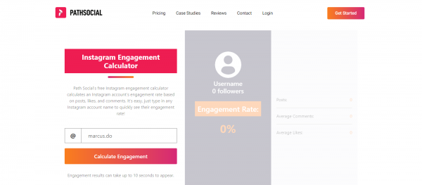PathSocial: Engagement Rate Calculator For Instagram