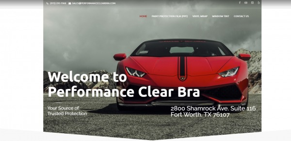 Performance Clear Bra - Car Paint Protection Film