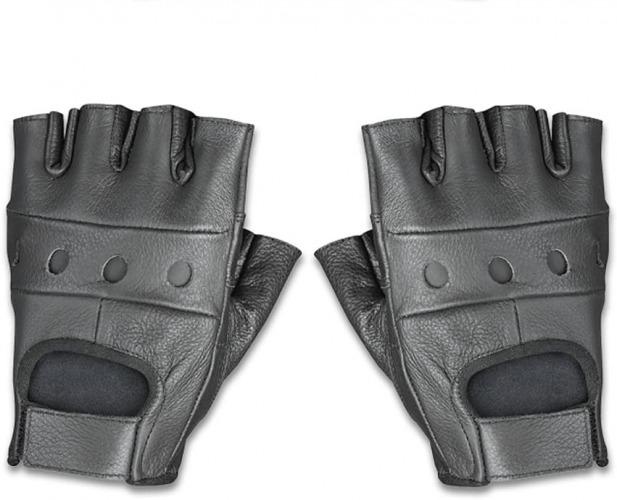 Raider Bcs-500m Fingerless Leather Gloves