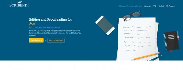 Scribendi - Proofreading Service Providers