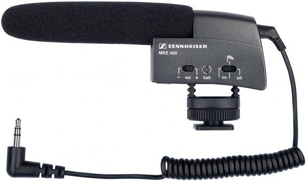 Sennheiser MKE 400 - Dslr Microphone