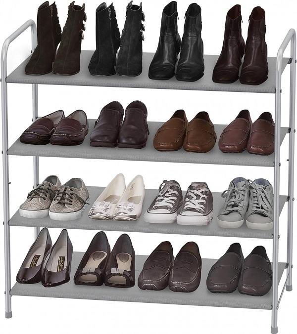 Simple houseware 4 tier shoe rack