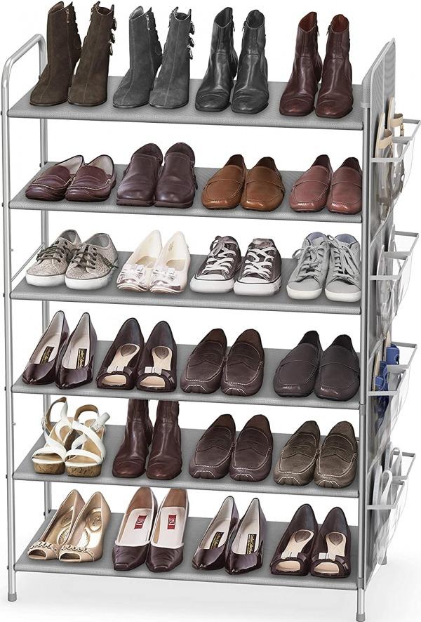 Simple houseware 6 tier shoe rack