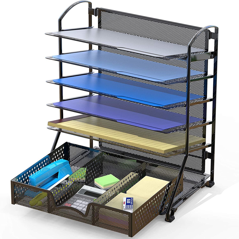 SimpleHouseware Desk Organizer Tray