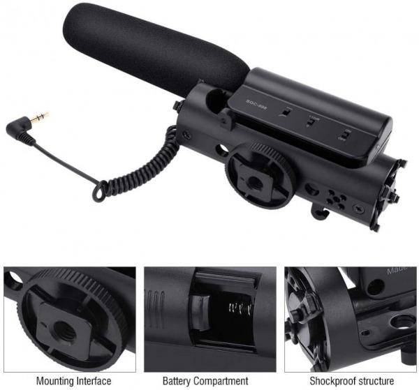 TAKSTAR SGC-598 - Dslr Microphone