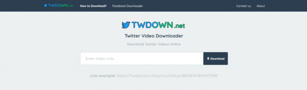 TWDown: Downloader Videos from Twitter