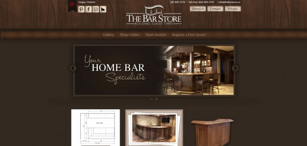 The bar store- Furniture stores Mississauga