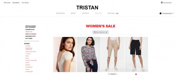 Tristan - Clothing Store Montreal