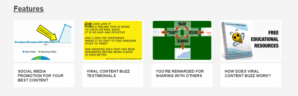 Viral Content Bee Features