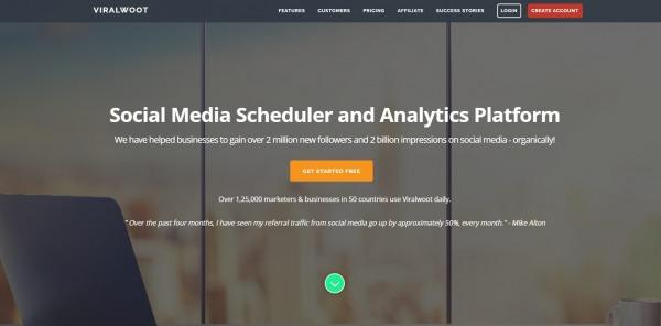 Viralwoot - Pinterest Analytics