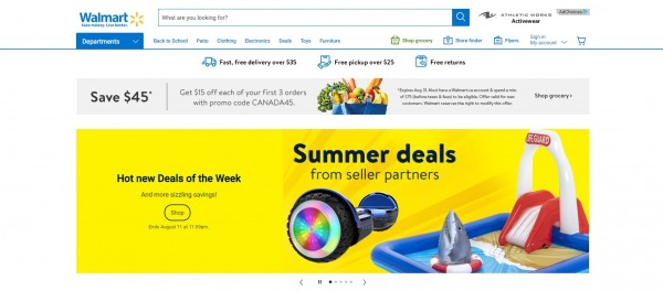 Walmart Canada- Liquidation Stores in Costco