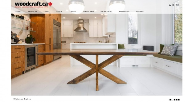 Woodcraft furniture