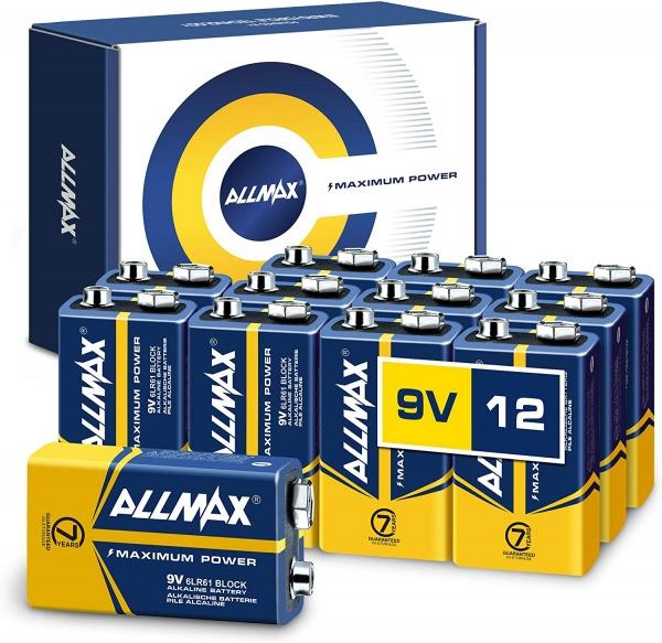 Allmax 9v battery