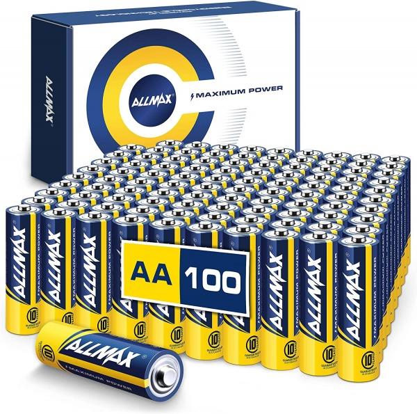 Allmax AA Alkaline Batteries