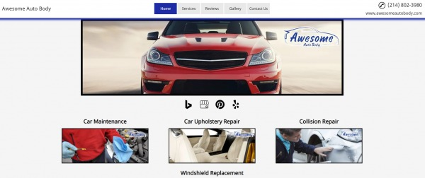 Awesome Auto Body - Paint Shops in Dallas