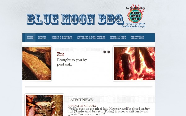 Blue Moon - bbq places in texas