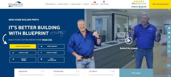 Blueprint homes - furniture stores ottawa