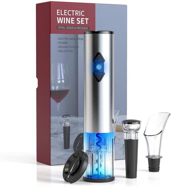 CIRCLE JOY Electric Wine Bottle Openers Set