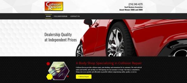 Collision Rescue -car body shops Dallas