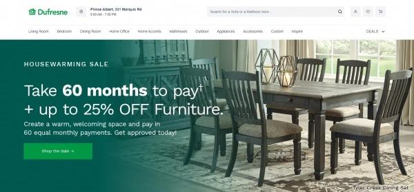 Dufresne - furniture stores ottawa