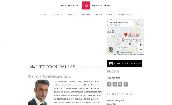 Eighteen Eight Salon - hair salons in dallas