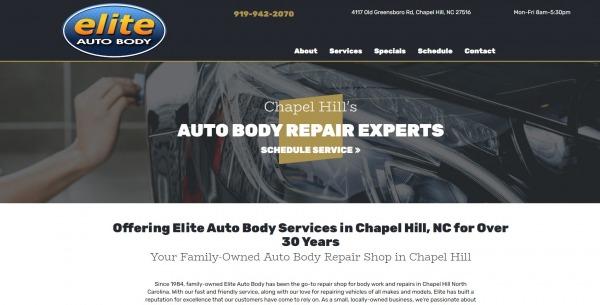 Elite Auto car Body Shop