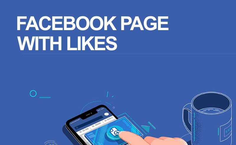 Facebook Page With like