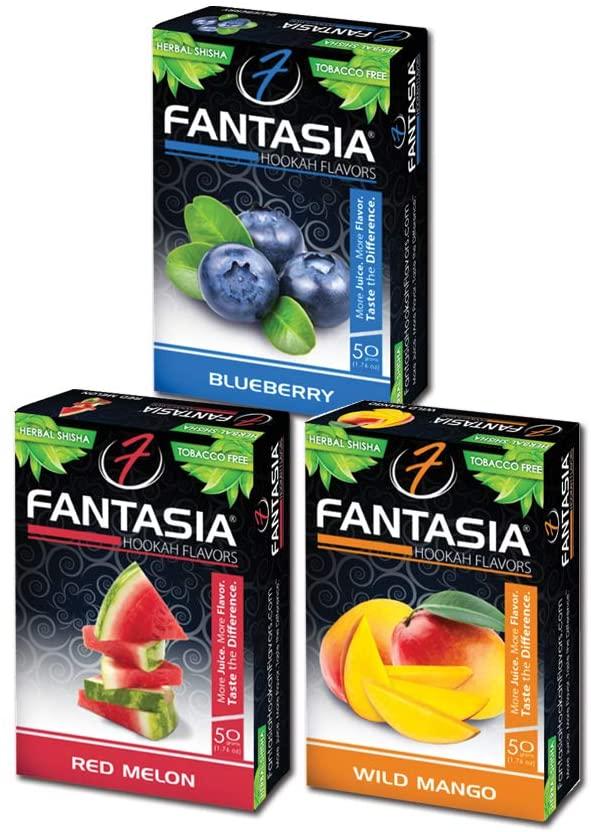 Fantasia Herbal Hookah Shisha Flavors