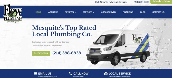 Flow Plumbing - plumber in plano