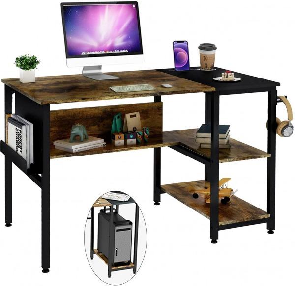 Frunimall Small Office Desk