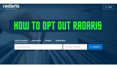How To Opt Out Radaris